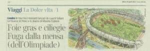 Agosto 2012 - Corriere della Sera