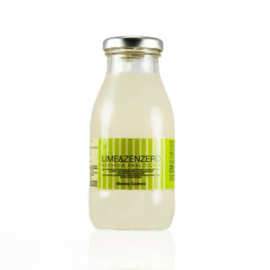 bevanda analcolica lime e zenzero officine cedroni Senigallia 2 stelle Michelin